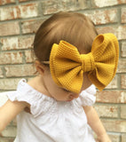 5 Inch Yellow Headband