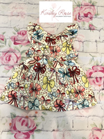 Bow Pattern Dress