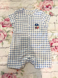 Captain America Romper with Cape