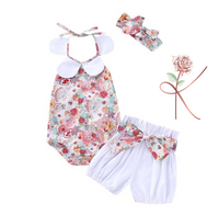 Floral Set with Headband