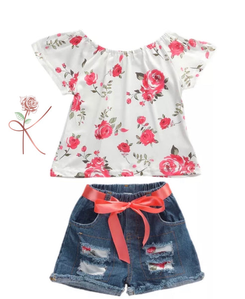 Rose Short Set