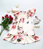 Kids floral mommy and me dresses