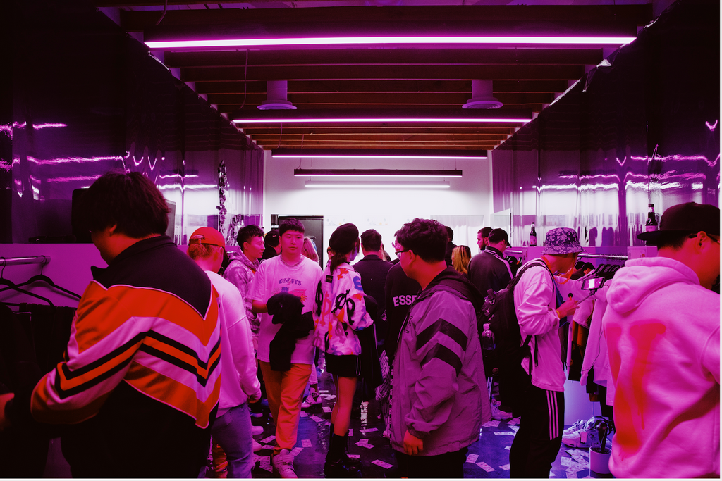 Higher Brothers Knowknow Pop-Up in Shine
