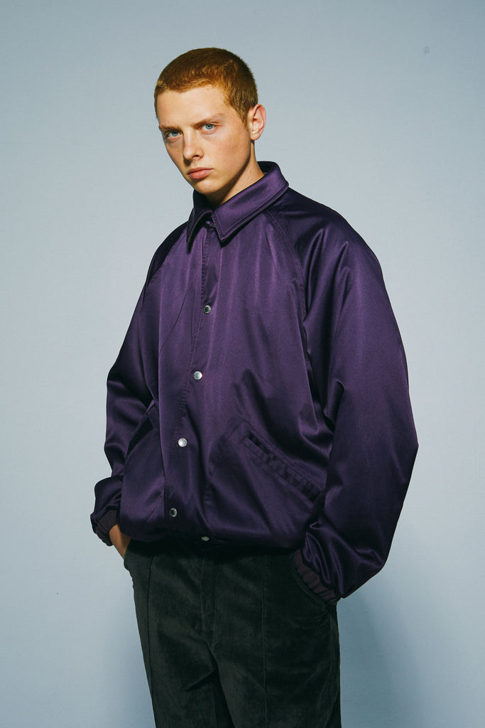 WHOOSIS 2020 Double-Sided Jacket Purple