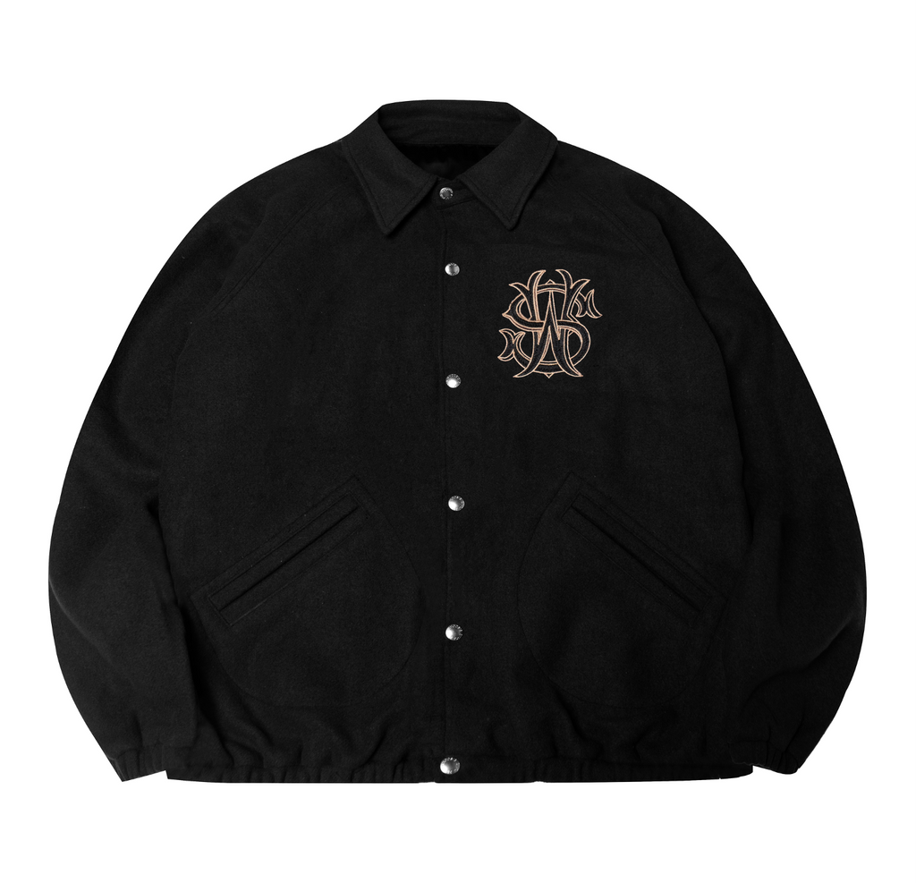 WHOOSIS 2020 Double-Sided Jacket Black