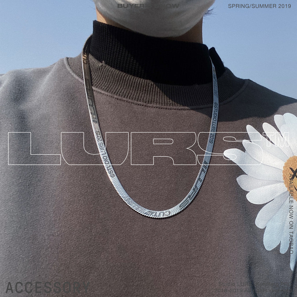 LURS 2020SS Ruler Necklace