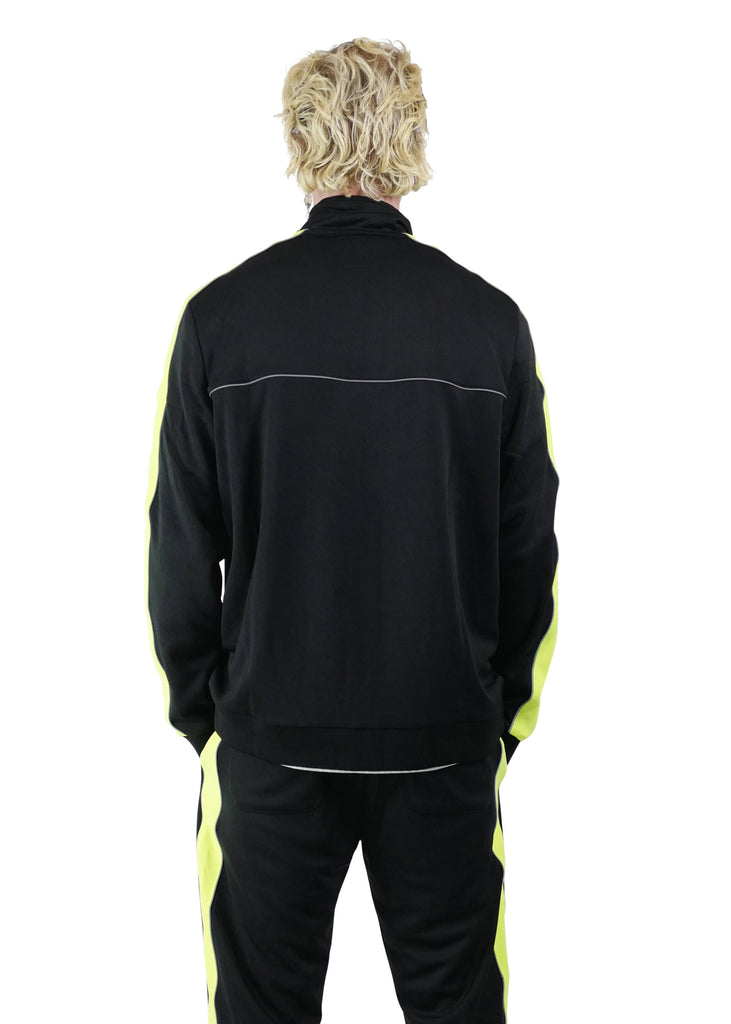 GNF Reflective Tracksuits Black
