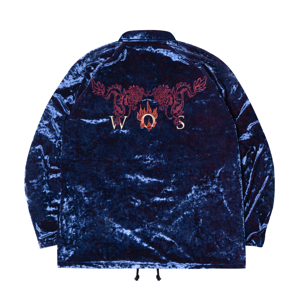 WHOOSIS Chinese Dragon Coach Jacket