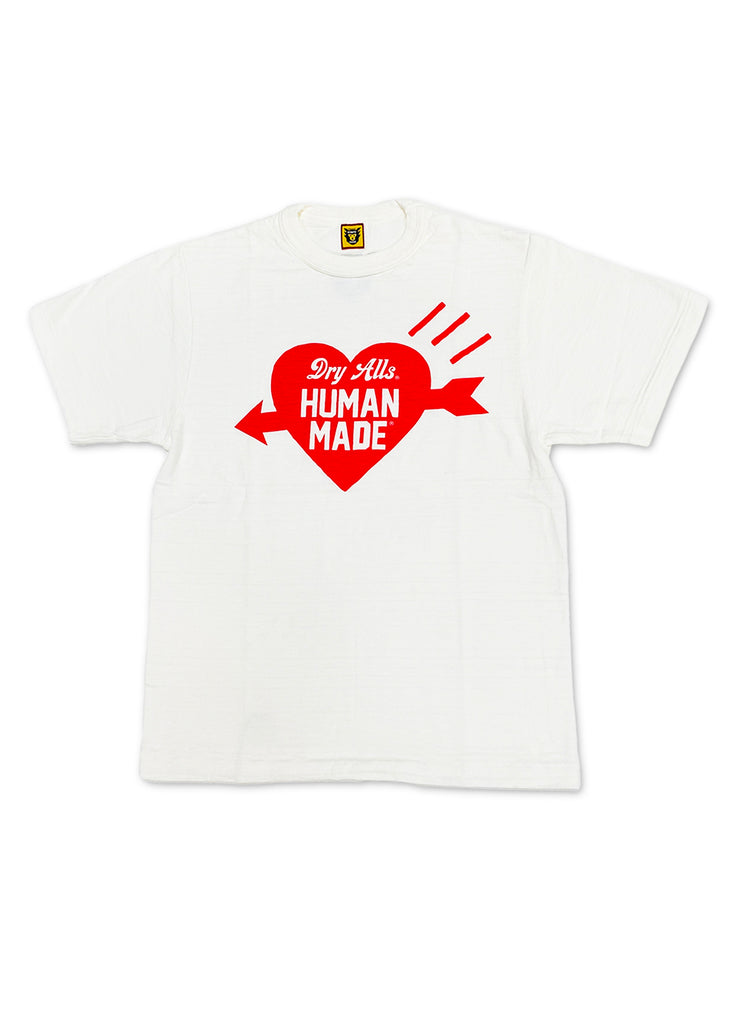 Human Made Heart Tee Red