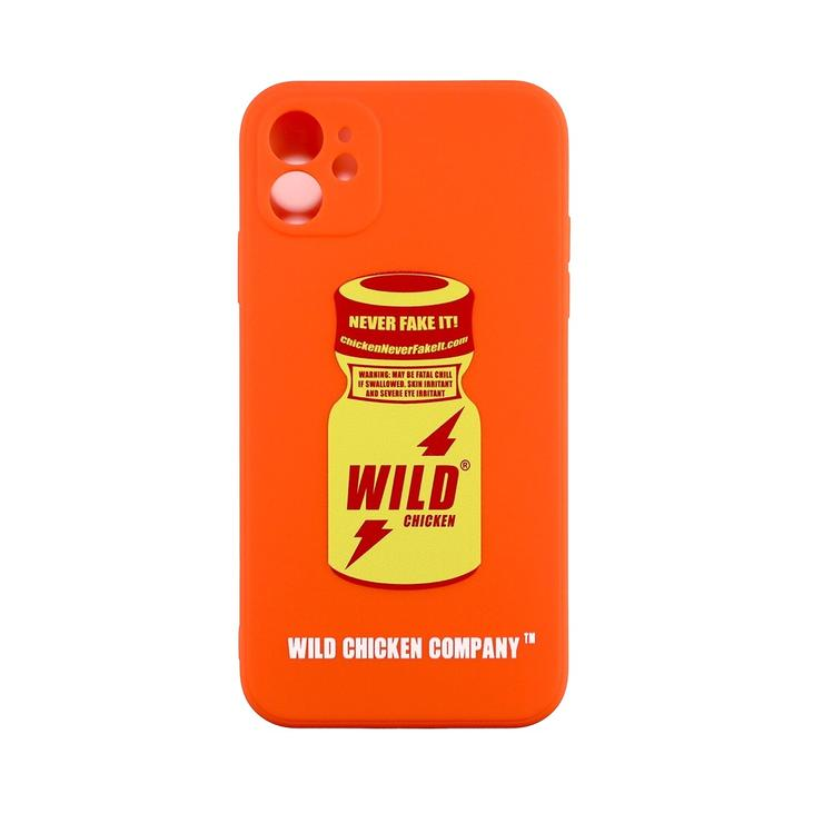 WCC Rush Bottle Burned Orange Soft Case