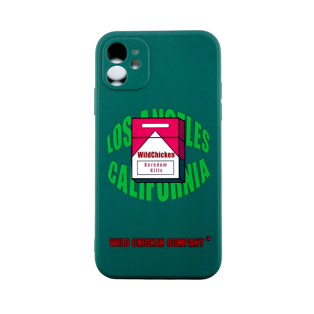 "WCC ""Boredom Kills""Dark Moss Soft Case"