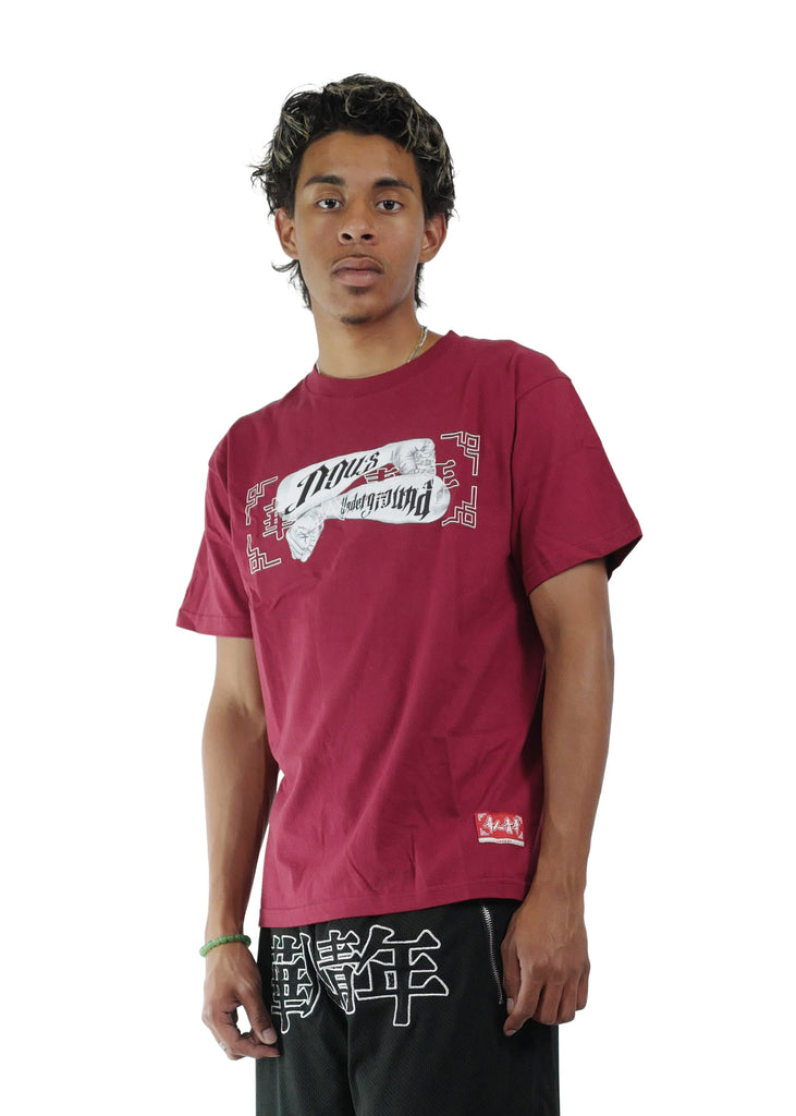 OCCUPY NOUS TATTOO TEE RED