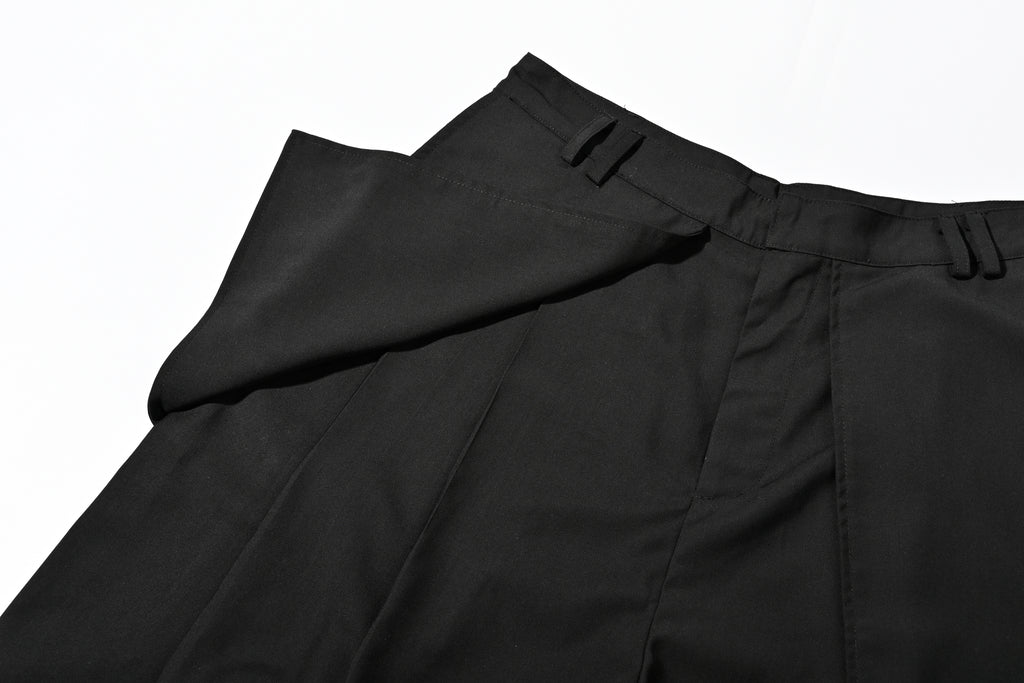 NSTNonstop Loose-leaf  Stereoscopic Cutting Suit Pants