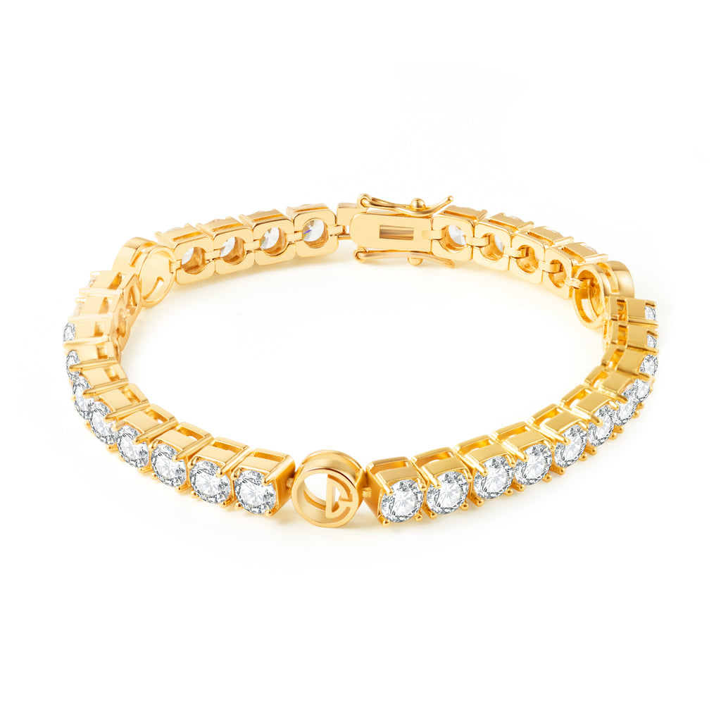 OOLONG GEAR CLASSIC-TENNIS BRACELET (GOLD)