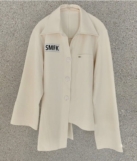 SMFK luxury pajamas IVORY