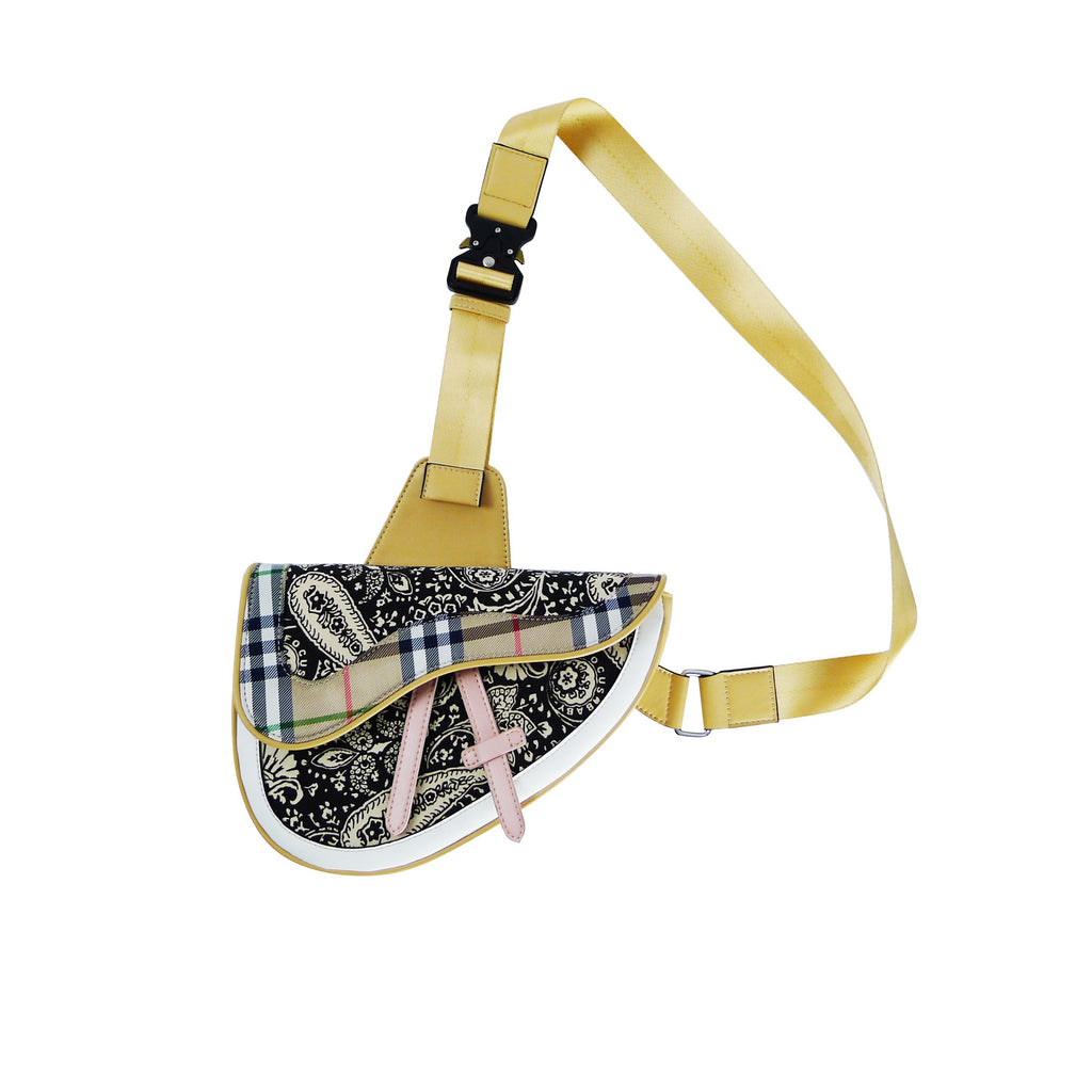 INNER ALCHEMY Cashew Flower Saddle Bag