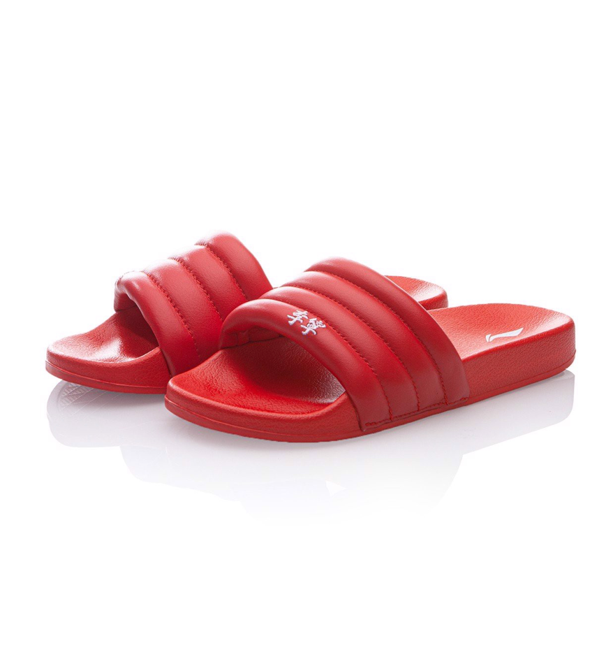 Li Ning PFW Collection Bubble Slide Red