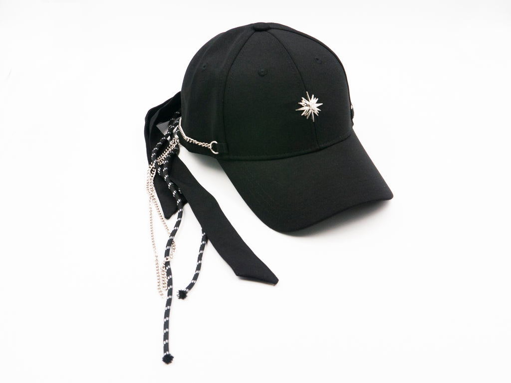 Xotic Triple Tie Back Cap Black
