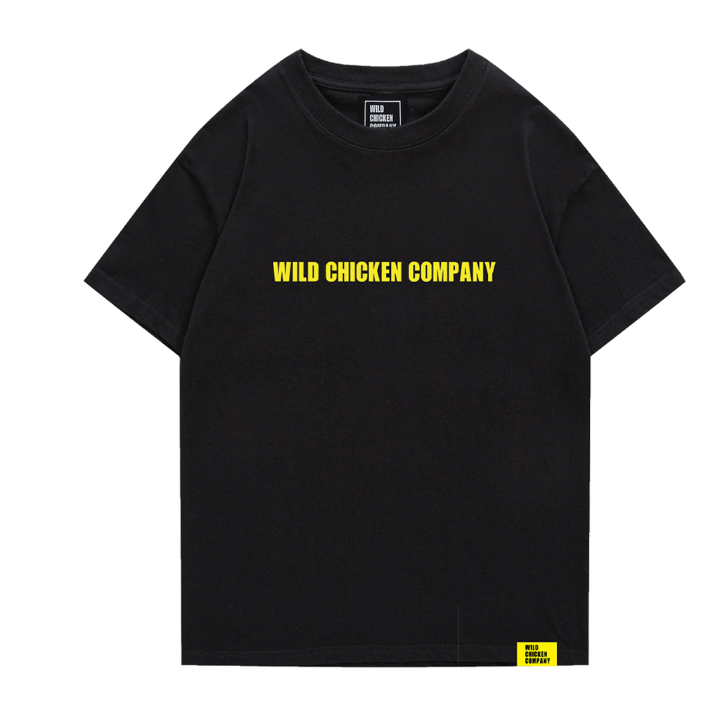 WCC Letter Tee Black
