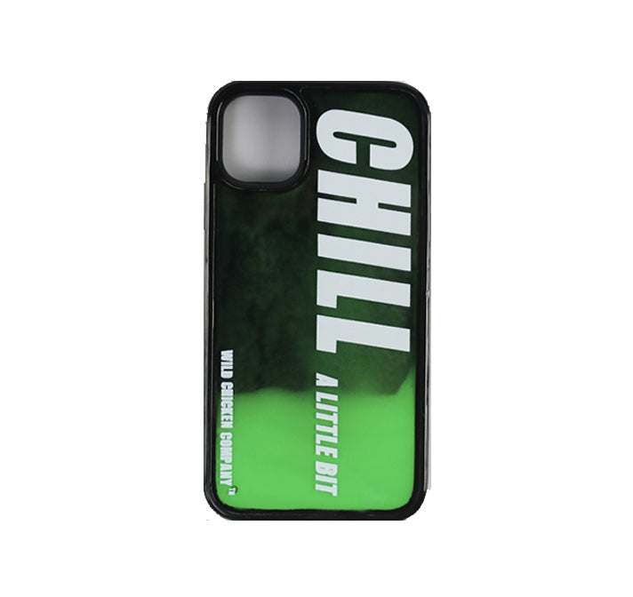 "WCC ""Chill a little bit"" Luminous Sand Liquid Cover Green"