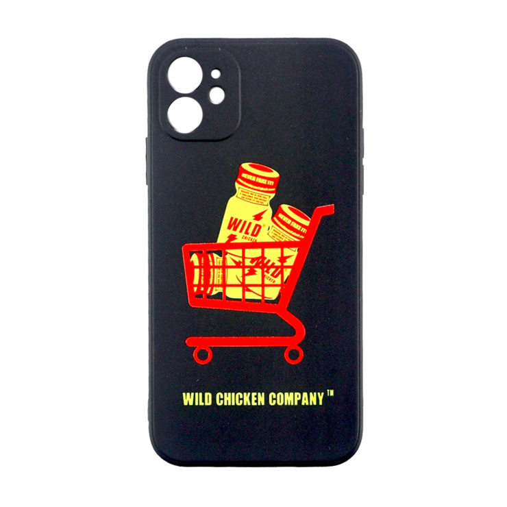 "WCC ""Never Fake It"" Midnight Blk Soft Case"