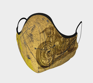 Cafe Racer Peek-a-boo Mask
