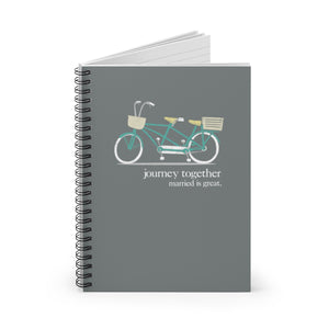 journey together - Spiral Notebook