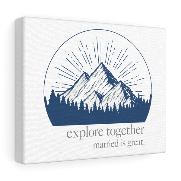 explore together - Canvas Wall Art