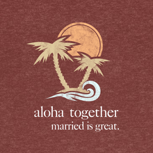 "Load image into Gallery viewer, Women's ""Aloha"" Tee"