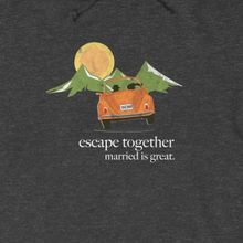 "Load image into Gallery viewer, ""Escape Together"" Hoodie"