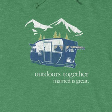 "Load image into Gallery viewer, ""Outdoors Together"" Hoodie"