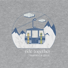 "Load image into Gallery viewer, Women's ""Ride"" Tee"