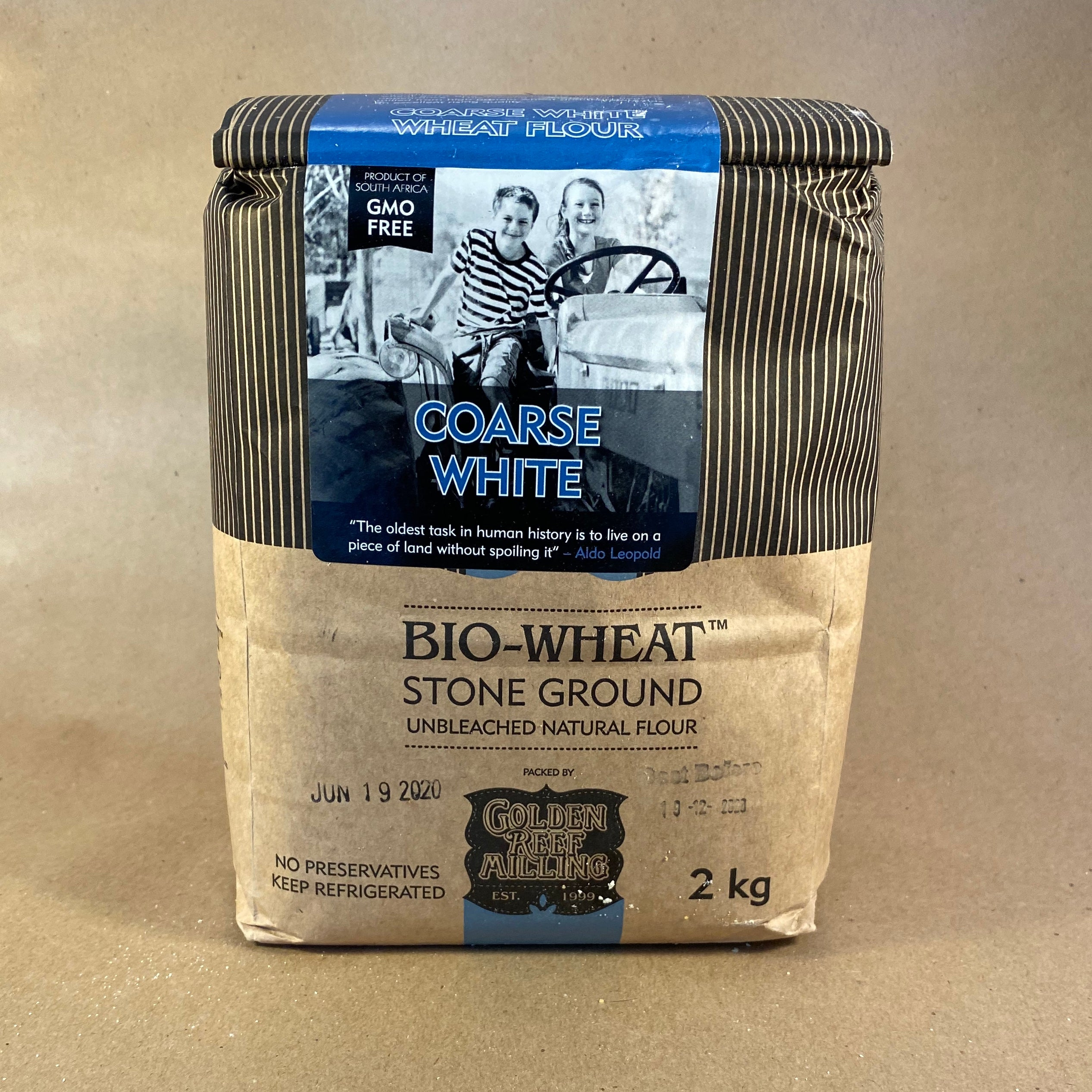 Course White Flour - Bio-Wheat