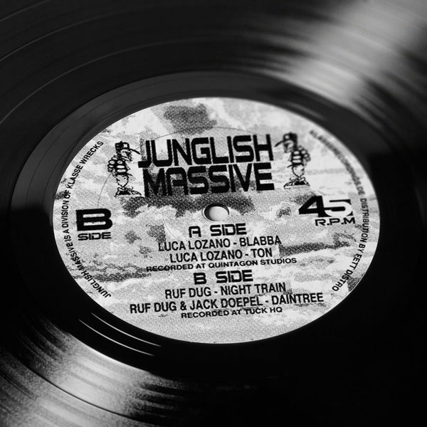 """JUNGLISH MASSIVE"" E.P"
