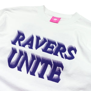 "Load image into Gallery viewer, ""RAVERS UNITE"" Tee"