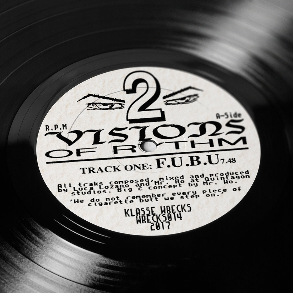 "Load image into Gallery viewer, ""VISIONS OF RHYTHM 2"" E.P"
