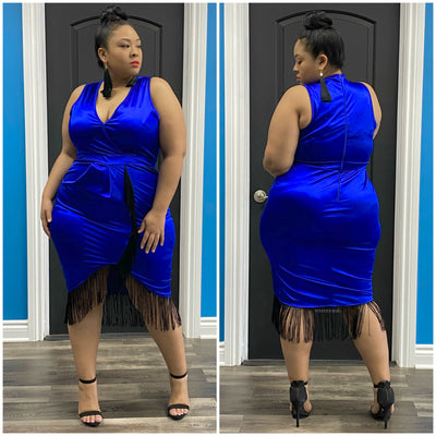 Blue Zaza Dress