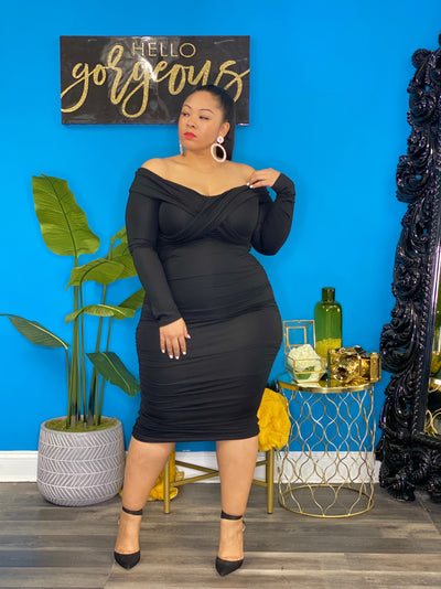Black Jenni Dress