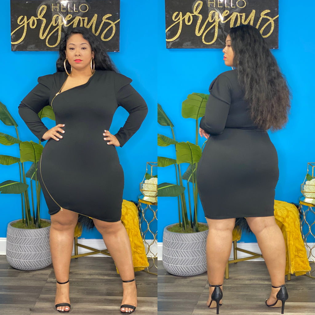 Black Jataun Dress
