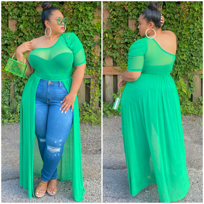 Green Dree Top