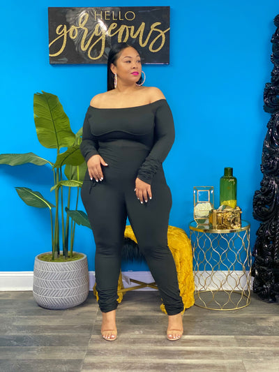 Black Mari Jumpsuit