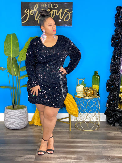 Black Brandee Dress