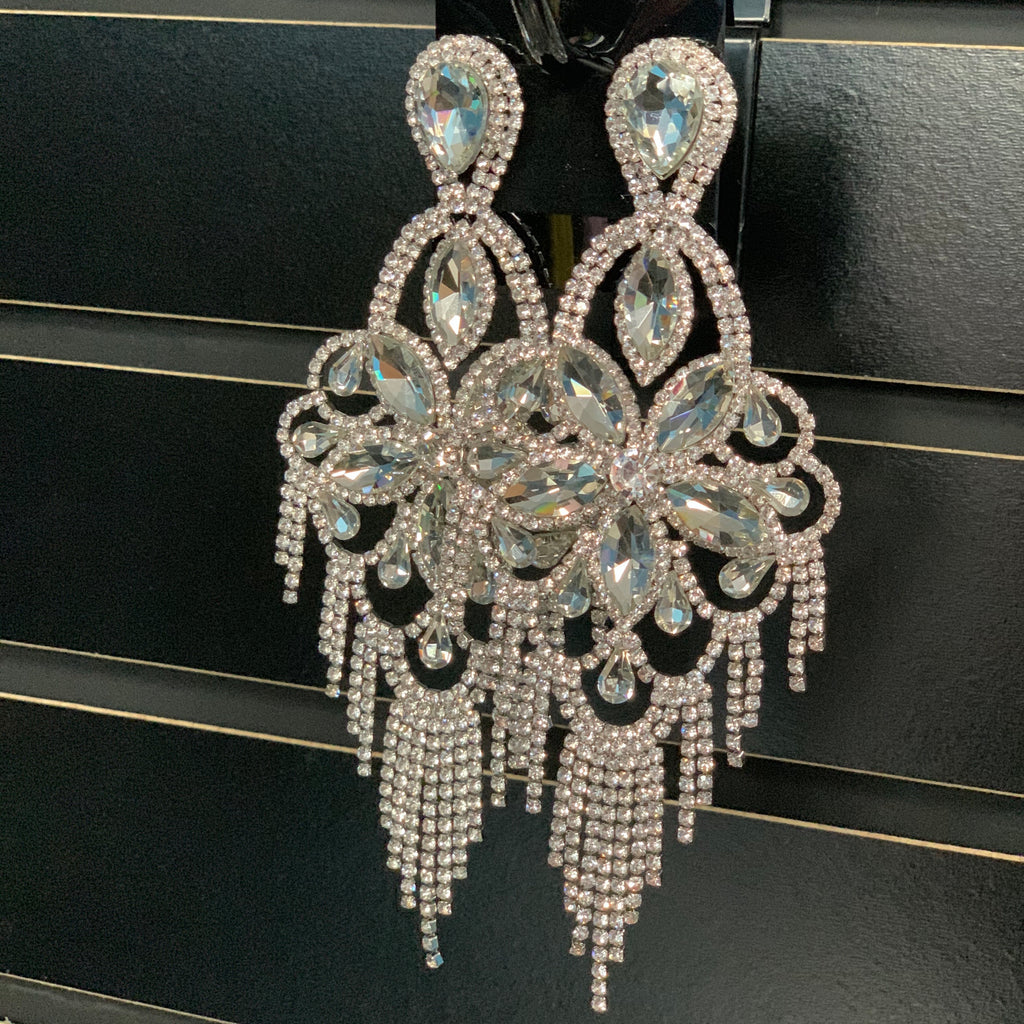 Silver Gia Earrings