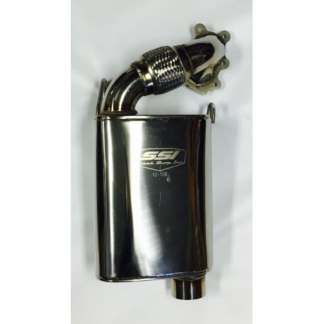 SSI STAINLESS STEEL FULL FORCE MUFFLER