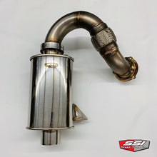 Load image into Gallery viewer, SSI STAINLESS TURBO BACK EXHAUST SYSTEM