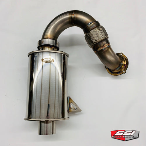 SSI STAINLESS TURBO BACK EXHAUST SYSTEM