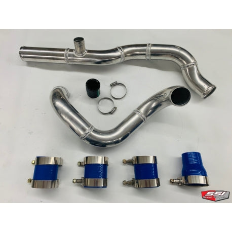 SSI Aluminum Charge Tubes with BOV port