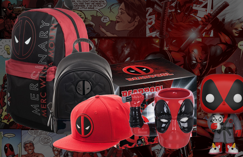 Deadpool Merc With A Mouth Box