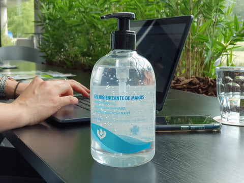 Alcohol desinfecterende handgel