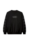 Youth Globe Black Crewneck